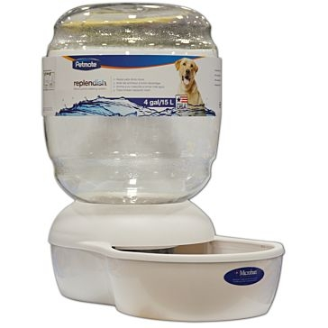 Petmate Replendish Gravity Pet Waterer 4 Gallon