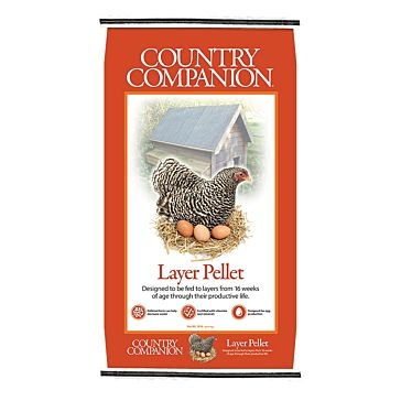 Country Companion Layer Pellets Chicken Feed 50lb Bag