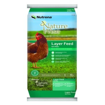 Nutrena NatureWise Layer 16% Pellet Poultry Feed 40lb