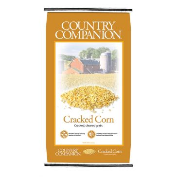 Country Companion Cracked Corn Feed 50lb Bag