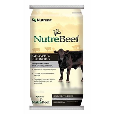 Nutrena NutreBeef Grower/Finisher Cattle Feed 50lb