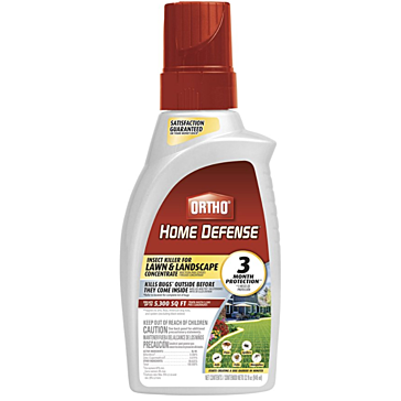 Ortho Concentrate Home Defense Insect Killer And Repellent For Pest-Free Lawn Landscape Protection