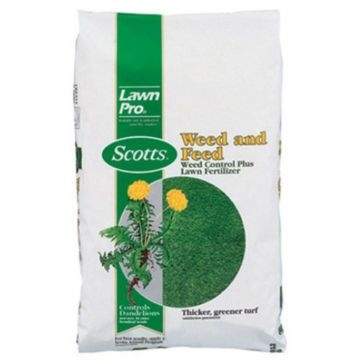 Scotts LawnPro Weed and Feed Lawn Fertilizer 15lb