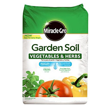 Miracle-Gro Garden Soil Vegetables & Herbs, 1.5 CF