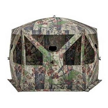 Barronett Pentagon Hunting Blind with Bloodtrail Backwoods Camo