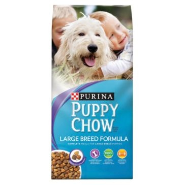 Purina Puppy Chow Large Breed Formula Dry Dog Food 32lb