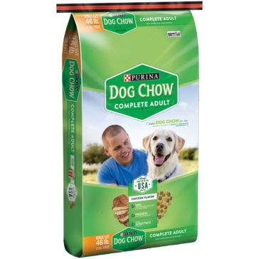 Purina Dog Chow Complete Dry Dog Food 46lb