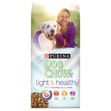 Purina Dog Chow Light & Healthy Dry Dog Food 32lb