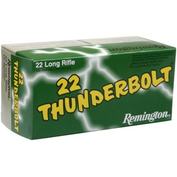 Remington 22 Thunderbolt 22LR 40 GR 500RD