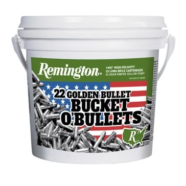 Remington 22 Golden Bullet Bucket O'Bullets 1400RD