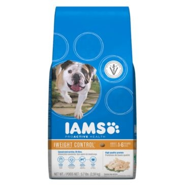 IAMS ProActive Health Adult Weight Control Dry Dog Food 5.7lb