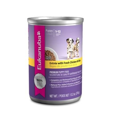 Eukanuba Puppy Chicken & Rice Canned Food 13oz