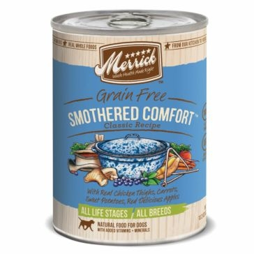 Merrick Grain Free Smothered Comfort Classic Recipe Wet Dog Food 13oz