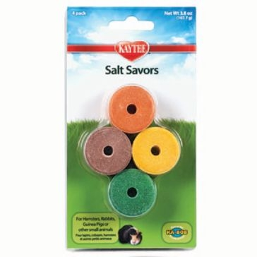 Kaytee Mini Salt Savors 4 Flavors 4-Pack