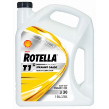 Shell Rotella 1 Gallon T1 30 Motor Oil 550019857