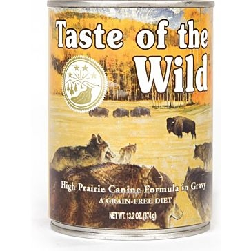 Taste of the Wild High Prairie Wet Dog Food 13oz