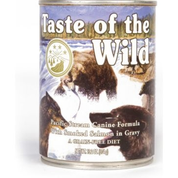 Taste of the Wild Pacific Stream Wet Dog Food 13oz