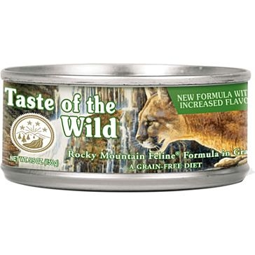Taste of the Wild Rocky Mountain Wet Cat Food 3oz