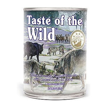 Taste of the Wild Sierra Mountain Wet Dog Food 13oz