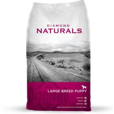 Diamond Naturals Large Breed Puppy Dry Dog Food 40lb