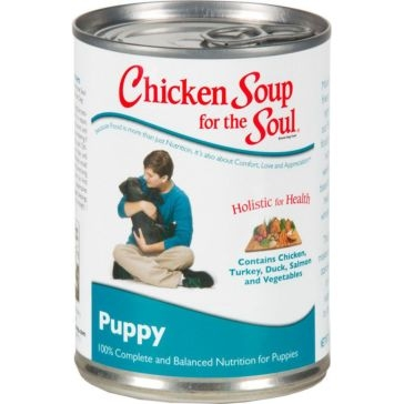 Chicken Soup for the Soul Puppy Formula Wet Dog Food 13oz