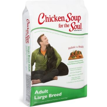 Chicken Soup for the Soul Large Breed Adult Formula Dry Dog Food 30lb