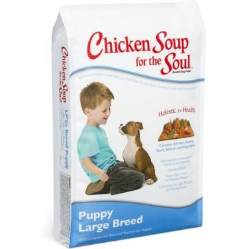 Chicken Soup for the Soul Large Breed Puppy Formula Dry Dog Food 30lb