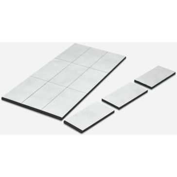 Master Magnetics Flex Magnets with Adhesive Liner 07010