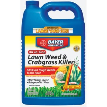 Bayer Advanced All-In-One Lawn Weed & Crabgrass Killer Concentrate 1Gal