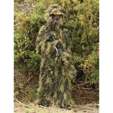 5-Piece Ghillie Suit Woodland