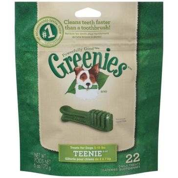 Greenies Original Dental Chews Dog Treats - Teenie
