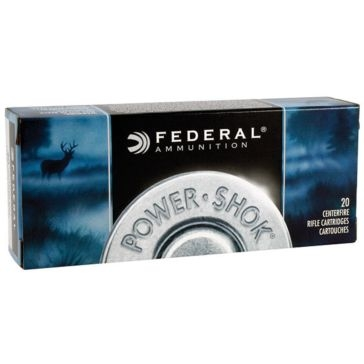 Federal Power-Shok 22-250 Rem 55 Grain