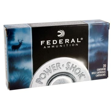 Federal Power-Shok 30-06 Spring. 180 Grain