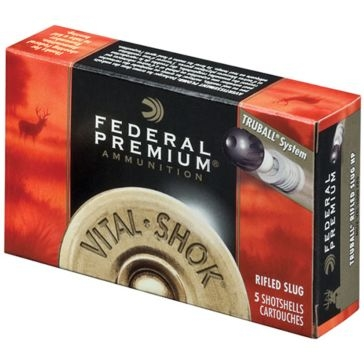Federal Vital-Shok TruBall Rifled Slug 12ga