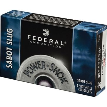 Federal Power-Shok Sabot Slug 20ga