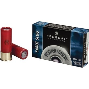 Federal Power-Shok Sabot Slug 12ga