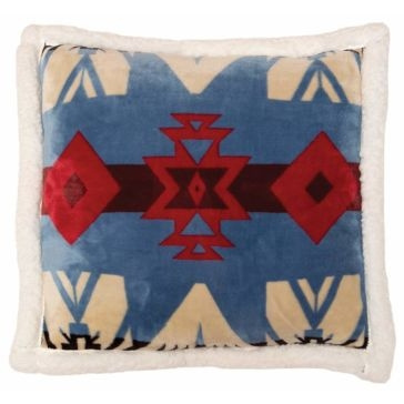 Carstens Blue River Southwest Sherpa Pillow
