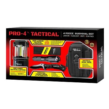 Pro-4 Tactical Survival Value Set