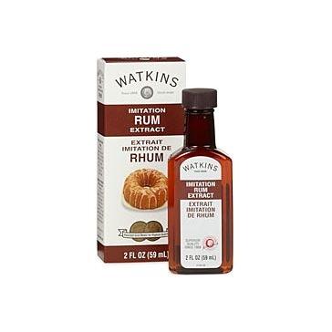 Watkins Imitation Rum Extract 2fl oz
