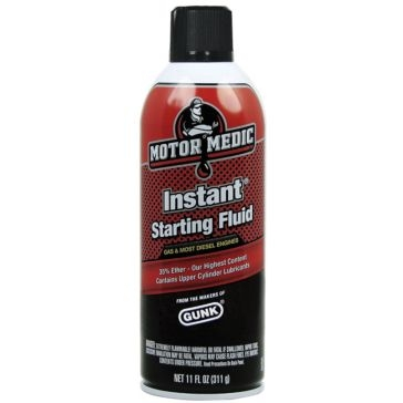 Motor Medic Instant Starting Fluid 11oz
