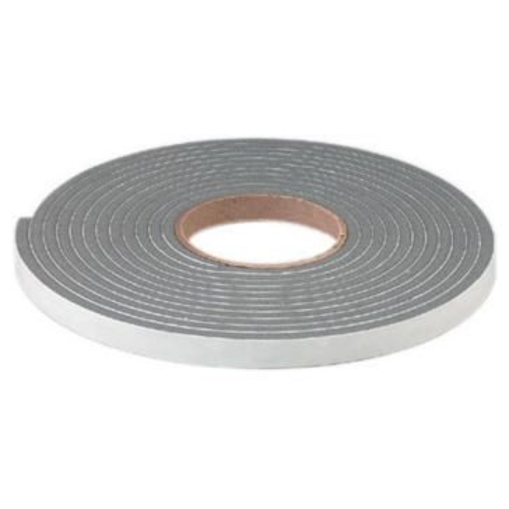 "Dennis Premium Heavy Density PVC Foam Tape 3/4"" W x 3/8"" H x 10' L"
