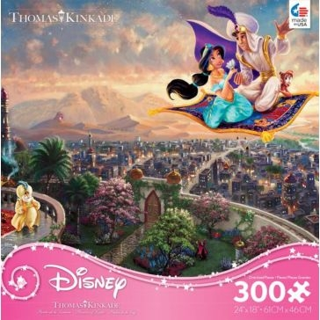 Ceaco Thomas Kinkade Disney Princess 300 Oversized Piece Puzzle - Assorted