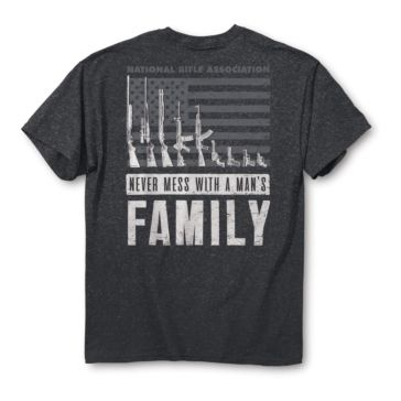 Buck Wear NRA Man's Family Tee