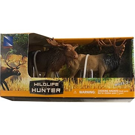New Ray Toys USA Wild Life Hunter Wild Animal Set Assorted
