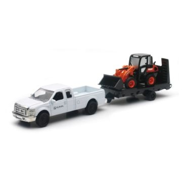 New Ray Toys USA Kubota Die Cast R630 with Pickup