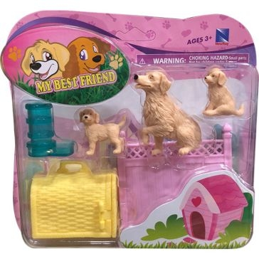 New Ray Toys USA My Best Friend Assortment