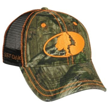 Outdoor Cap Mossy Oak Mesh Back Camo Hat MOFS11F