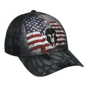 Outdoor Cap American Flag Kryptek Typhon Hat KRY-007