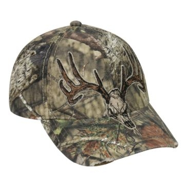 Outdoor Cap Mossy Oak Camo Deer Skull Hat HT54A