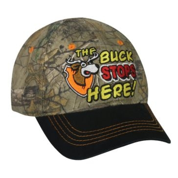 Outdoor Cap Toddler The Buck Stops Here Hat TDL-002